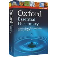 Oxford Essential Dictionary 牛津基础英语词典第二版 英文原版 英英字典 英文版现货正版进口
