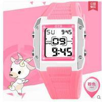 女生手表韩版学生潮儿童手表女孩电子表时尚学生儿童手表中小学生手表防水夜光支持礼品卡支付
