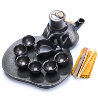 唐丰半全自动茶具套装家用整套功夫茶杯创意干泡茶盘陶瓷茶台