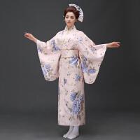女式士正装浴衣长款改良传统和服cos动漫lovelive写真演出服
