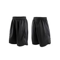 男士运动短裤跑步裤春夏透气速干健身篮球乒乓球短裤宽松 黑色