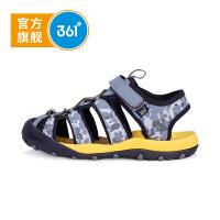 【下单立减2.5折价:64.8】361度 男童沙滩凉鞋 年夏季新款N71822650