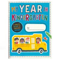 My Year in Kindergarten 我在幼儿园 英文原版进口图书儿童幼儿园毕业纪念册同学录 手工绘画活动游