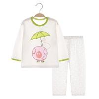 儿童睡衣夏季薄款长袖宝宝空调服男童女童家居服套装小孩夏装