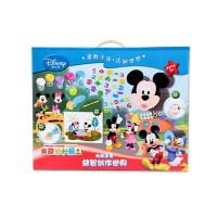 Disney 迪士尼 DIY系列 米奇造型益智创作世界儿童益智DIY创意玩具模型当当自营