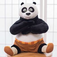 功夫熊猫公仔生日礼品10岁小朋友6学生8岁7岁女孩儿童节礼物创意礼品 35厘米功夫熊猫