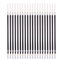 金优 全针管通用中性替芯0.3mm(黑色20支)JY-3103水笔芯中性笔芯签字笔替芯碳素笔芯 当当自营