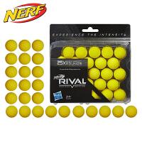 孩之宝NERF热火竞争者系列25枚球弹子弹软弹枪补充装玩具B1589