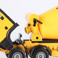 儿童水罐车工程车玩具凯迪威合金水泥搅拌车玩具仿真汽车模型