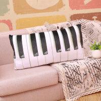 仿真键盘枕头毛绒玩具创意睡觉卡通抱枕搞怪男女朋友生日礼物 62*26厘米
