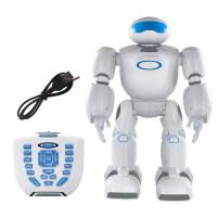 男孩星宝战士儿童超大智能机器人玩具会跳舞的可编程遥控机器人男女孩 益智启蒙早教 智能机器人 星宝战士 送3节电池 螺丝