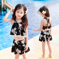 儿童泳衣女童男孩泳装学生比基尼套装宝宝分体小中大童泳衣