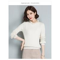 纯色修身女式针织衫 秋冬新品打底羊毛衫女 百搭毛衣新品