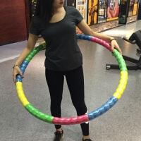 呼啦圈健身初学者女士美体健身圈家用加重