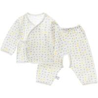 夏季新生儿内衣婴儿衣服男女宝宝毛衫套装
