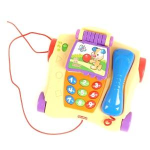[当当自营]Fisher Price 费雪 音乐学习电话 双语 婴儿玩具 P8015