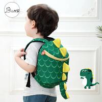 儿童书包幼儿园女1-3-5岁小宝宝双肩包婴幼儿男孩可爱2防走失背包