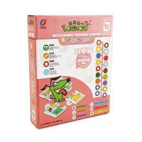 逻辑狗小学基础版第四阶段10岁以上儿童思维训练早教益智玩具 精装带操作板
