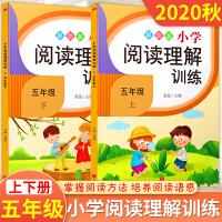 五年级阅读理解训练 语文 人教版 五年级上册+下册小学生阅读训练