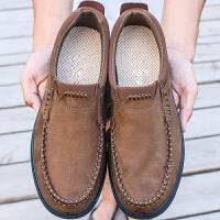 老北京布鞋春秋季男鞋透气软底男士休闲鞋中老年父亲大码男款单鞋