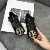 女童皮鞋�\口公主鞋小女孩方�^�底�和��涡�黑色春鞋子