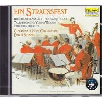 【中图音像】施特劳斯家族圆舞曲-红衫仔1 古典音乐 进口CD CD80098 泰拉克
