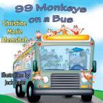 【预订】99 Monkeys on a Bus