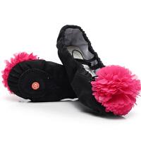 儿童舞蹈鞋女 跳舞鞋软底皮头练功鞋芭蕾舞鞋男幼儿练功瑜伽鞋猫爪鞋