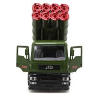 儿童玩具合金军事系列坦克导弹战车战斗机声光回力合金汽车模型