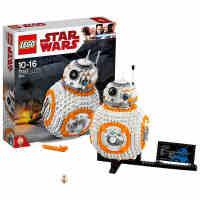 新品乐高星球大战系列 75187 BB-8机器人 LEGO 积木玩具收藏