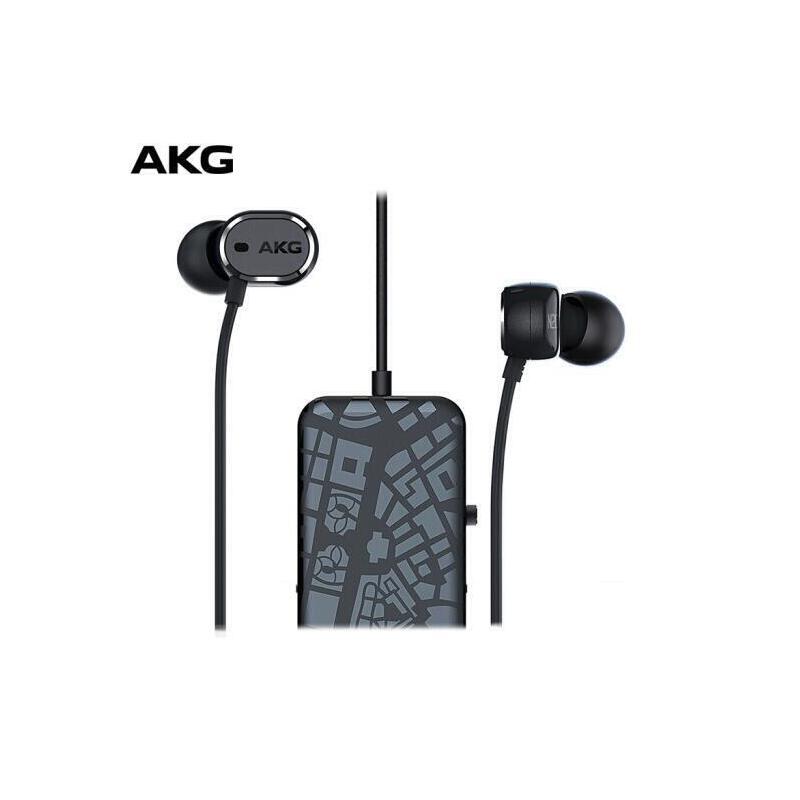 AKG N20NC 主动降噪入耳式耳机 智能消噪音乐耳麦 三键式线控麦克风 兼容安卓苹果