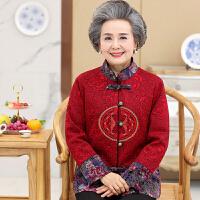 2018春季新款妈妈春装外套大码老年女装奶奶装唐装上衣60-70-80岁