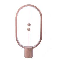 七夕礼物家居生活创意智能平衡磁吸半空开关LED台灯磁悬浮小夜灯抖音台灯