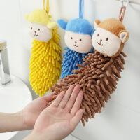 【限时直降】可爱卡通雪尼尔可挂式擦手巾 家用厨房洗手间吸水毛巾多功能抹布