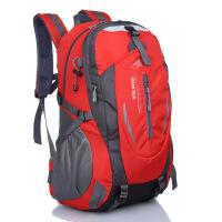 户外登山包40L大容量轻便旅行背包男士旅游双肩包防水女运动书包 加强版