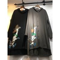 T4春秋2018新款韩版新款 学生宽松卫衣女长袖连帽开衫风衣外套0.5
