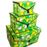 学生宿舍布艺收纳箱小号折叠 零食有盖收纳盒衣服 汽车储物箱 特