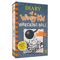 Diary of a Wimpy Kid 14 - Wrecking Ball 小屁孩日记14 - 破坏球 英语分级阅