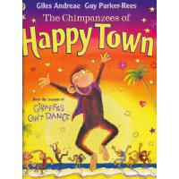 The Chimpanzees of Happy Town 欢乐镇(《长颈鹿不会跳舞》同一作者作品)ISBN97814