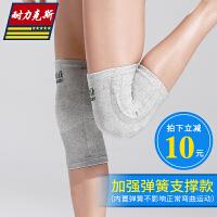 运动护膝男跑步女护腿小腿套舞蹈膝盖护小腿冬季保暖骑车骑行篮球