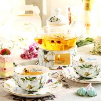 骨瓷花茶茶具套装 煮水果的茶具茶壶欧式下午茶家用耐热玻璃