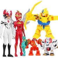 超变武兽儿童玩具手动一键手表召唤器泰戈卓锋飞霓武器全套男孩