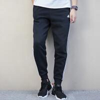 Adidas阿迪达斯 男子 运动休闲长裤 加绒收口小脚长裤 BR3696