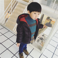儿童宝宝轻薄款羽绒服冬装男童女童连帽加厚外套小童装12-3-4-5岁