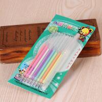 diy相册制作配件材料 8只笔芯+1只笔管 8色笔八色笔水粉笔涂鸦笔
