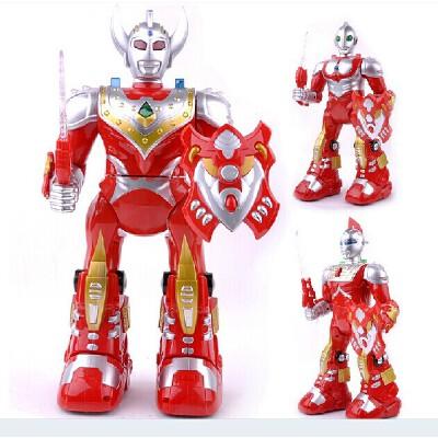 奥特曼咸蛋超人 玩具模型 泰罗动漫智能公仔 男孩超大遥控机器人 背唐诗讲故事豪华礼盒奥特曼