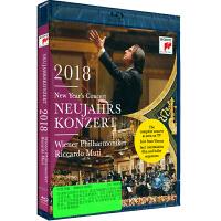 新华书店正版 88985470609 2018年维也纳新年音乐会BD