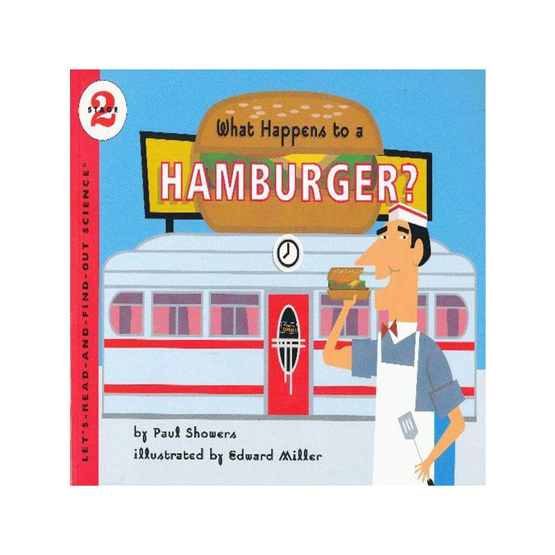 What Happens to a Hamburger? (Let's Read and Find Out)  自然科学启蒙2:汉堡是怎么做的?ISBN9780064451833
