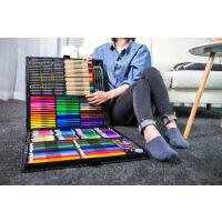 258件儿童画笔套装水彩笔美术用品绘画工具箱小孩子画画笔礼盒