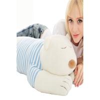 可爱抱枕创意抱枕抱抱熊趴趴熊毛绒玩具玩偶公仔